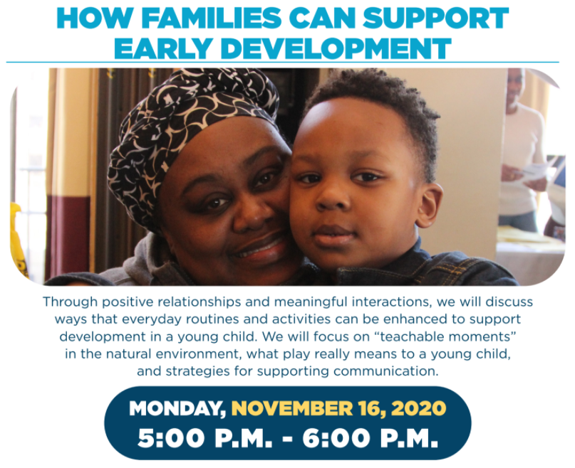 How Families Can Support Early Development